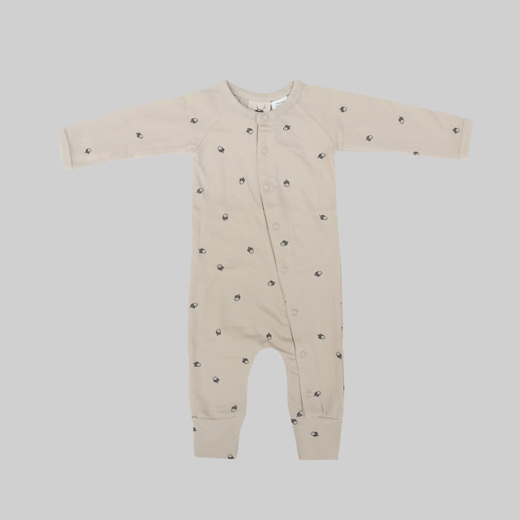 Full Body Romper - Acorn