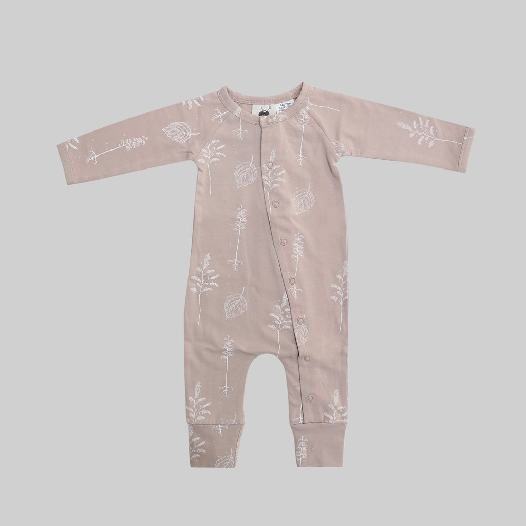 Full Body Romper - Shadow Pink