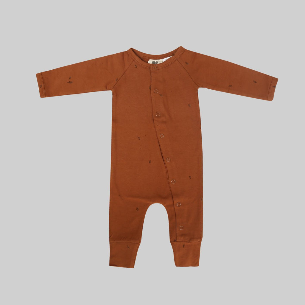Full Body Romper - Toffee