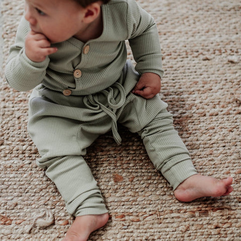 Milk Cotton Baby Leggings