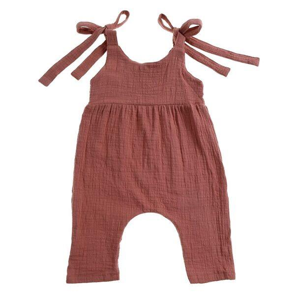 Luca Overalls Dusty Pink