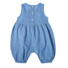 Palmito Embroidered Chambray Overalls