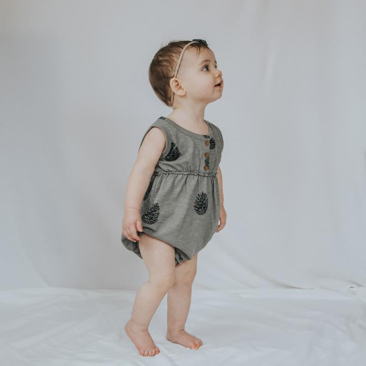 Bubble Romper - Pinecone
