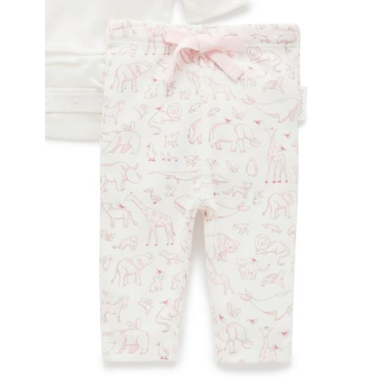 Pink Animal Kingdom 3-Piece Gift Pack