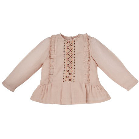 Caprice Embroidered Blouse