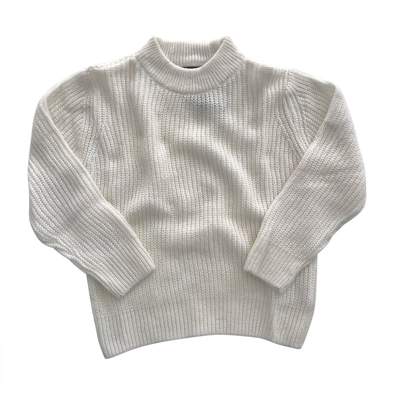 Luxe Riley Sweater - Whisper