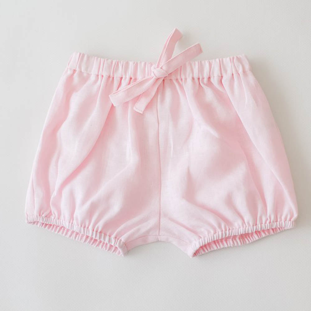 Rose Linen Bloomers