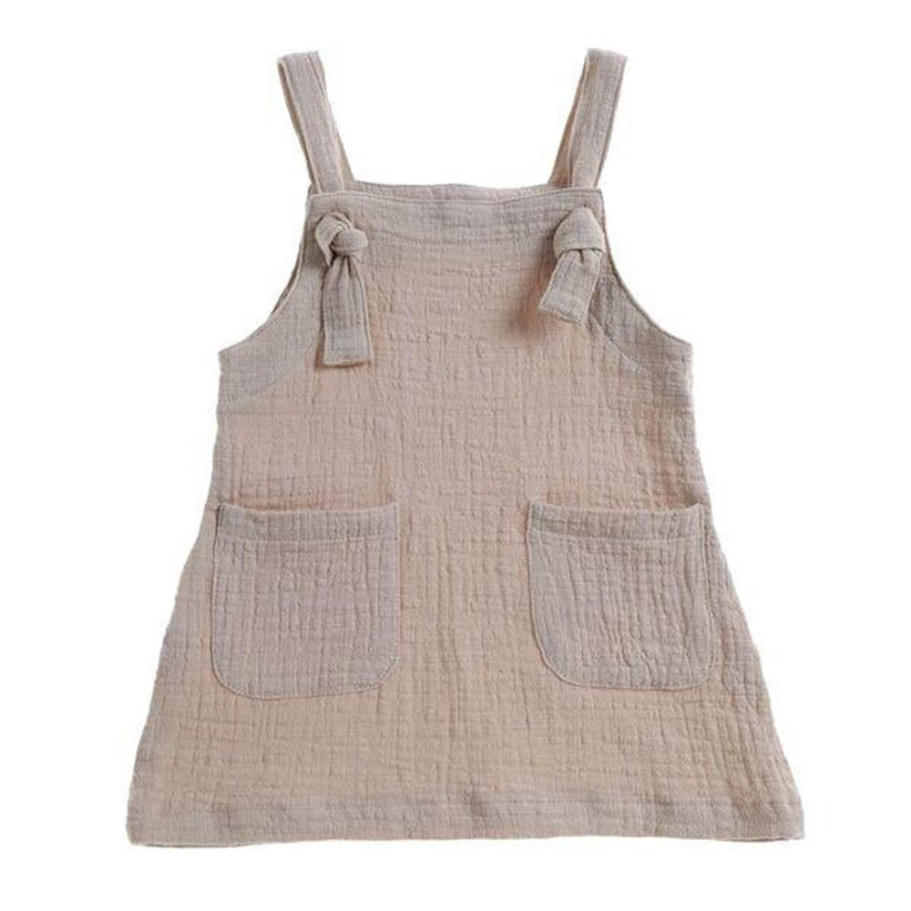 'Lilo' Apron Dress Sand