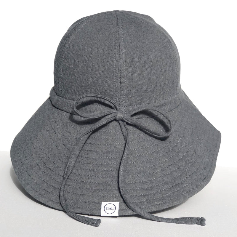 fini. Floppy Hat - Slate Grey
