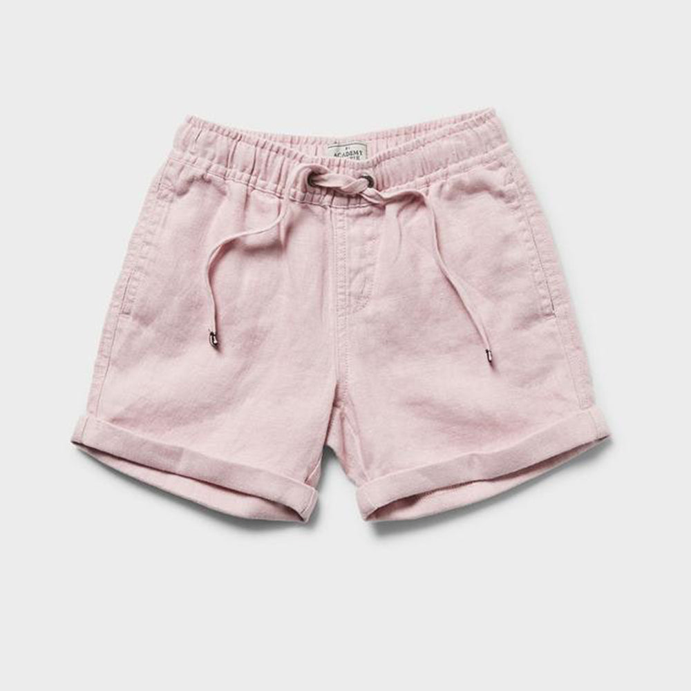 Rookie Volley Linen Short - Pink
