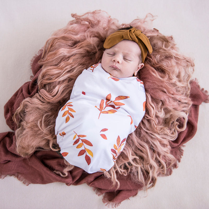 Snuggle Swaddle and Beanie Set - Wildfire