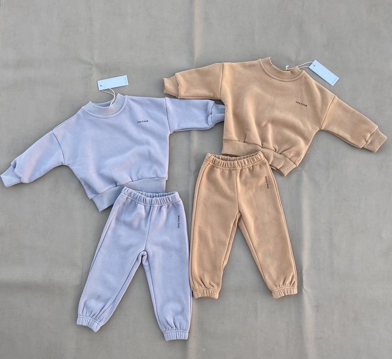 Woodie Jogger Tracksuit - Fawn