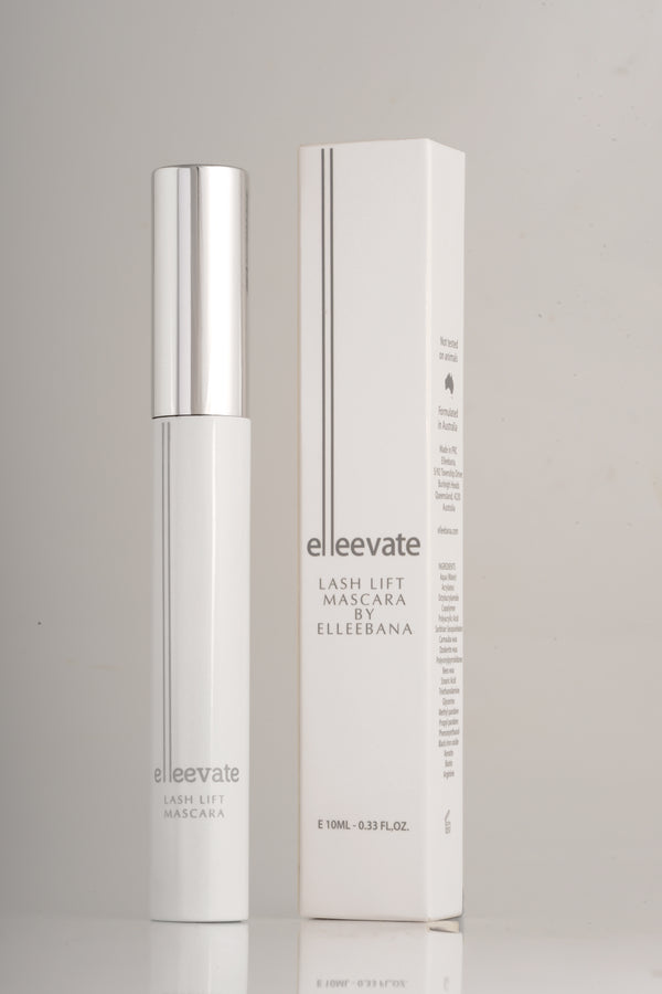 Elleevate Lash Lift Mascara by Elleebana is an everyday, gentle mascara you can wear on lashes with or without a lash lift. Can even be applied immediately after a lash lift treatment.