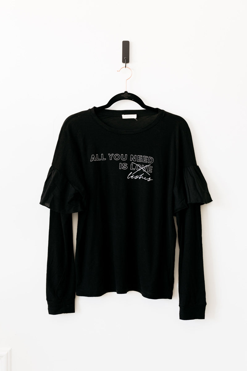 All You Need is Lashes - Long Sleeve