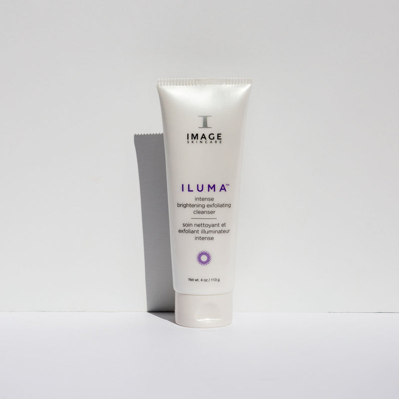 Ilumna intense brightening exfoliating cleanser by Image Skincare is a luxurious cream-to-foam cleanser that sweeps away impurities and exfoliates in one simple step to help visibly brighten and refine the skin.