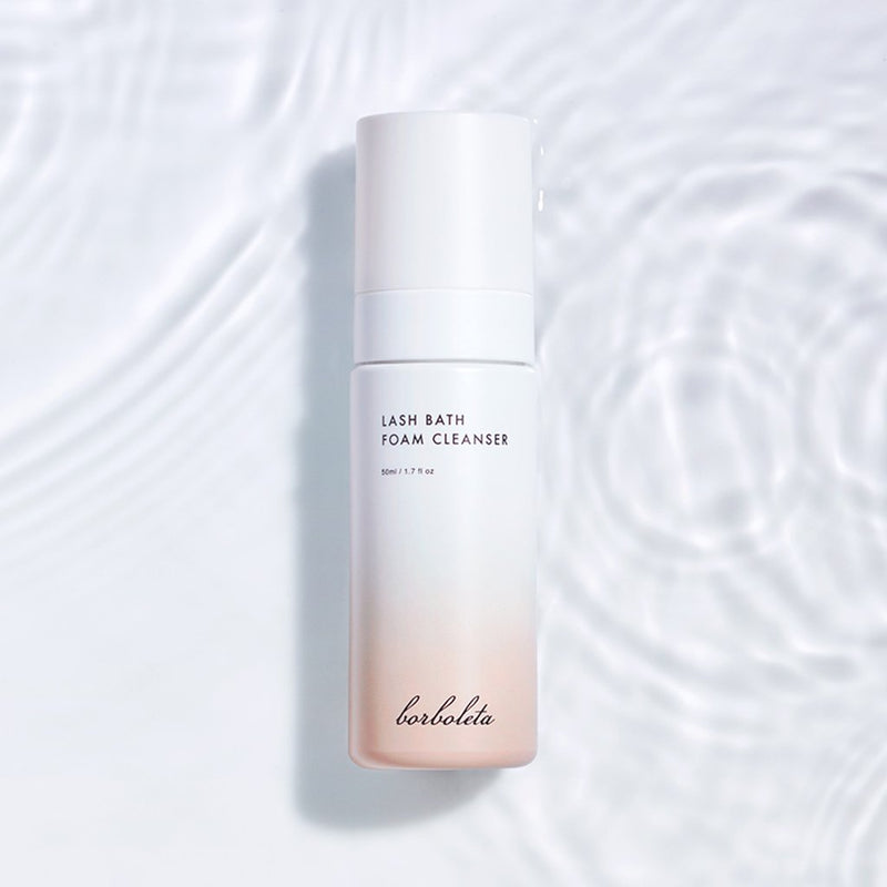 Lash Bath Foam Cleanser made with custom all new formulas keep lids and lashes clean, healthy and nourished. Formulated with targeted ingredients like moisture-binding hyaluronic acid and amino acids to replenish and hydrate for more youthful looking skin while strengthening and conditioning natural lashes.