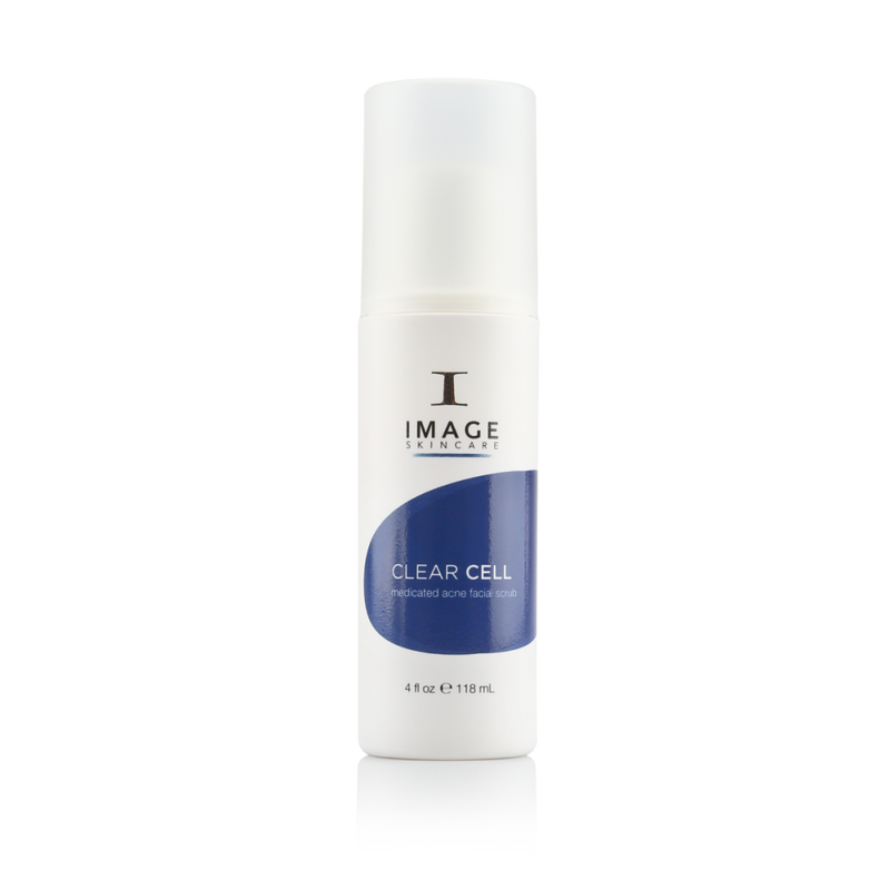 Fast-acting Clear Cell Medicated Acne lotion attacks acne-causing bacteria, works on redness from existing and previous blemishes & helps fade the appearance of past acne marks.