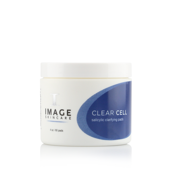Clear Cell Salicylic Clarifying Pads by Image Skincare swipe away impurities and excess oil