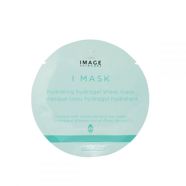Image Skincare I Mask Hydrogel Sheet Mask delivers instant hydration to dry, dull skin. Cooling and soothing, it refreshes thirsty skin with mineral-rich waters & hyaluronic acid.