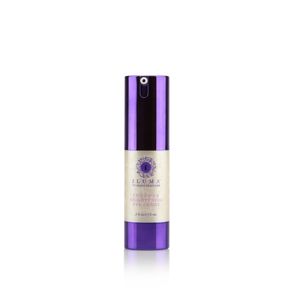 Iluma Intense Brightening Eye Creme is a super-hydrating & brightening eye crème that works aggressively to break up discoloration under eyes and reduce visible signs of aging like dark circles & wrinkles!