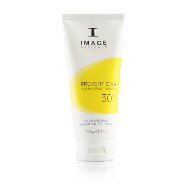 Image Skincare Prevention+ daily hydrating moisturizer SPF 30+ is sheer, lightweight and an essential final step in your daily skincare routine.