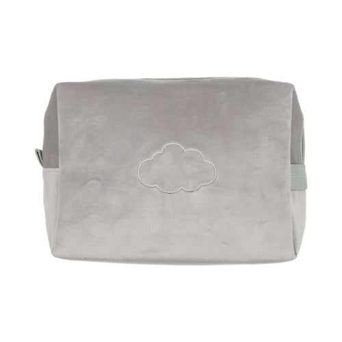Velour Travel Case-Grey
