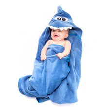 Load image into Gallery viewer, Shark Premium Hooded Towel
