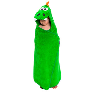 Dinosaur Premium Hooded Towel