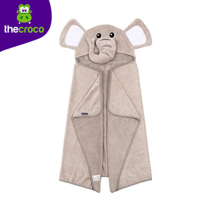 Elephant Premium Hooded Towel