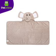Load image into Gallery viewer, Elephant Premium Hooded Towel