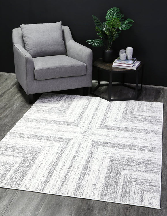 Madison Nordic Cream Grey Rug