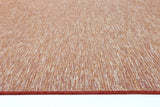 Sun Dance Reversible Indoor Outdoor Orange Rug