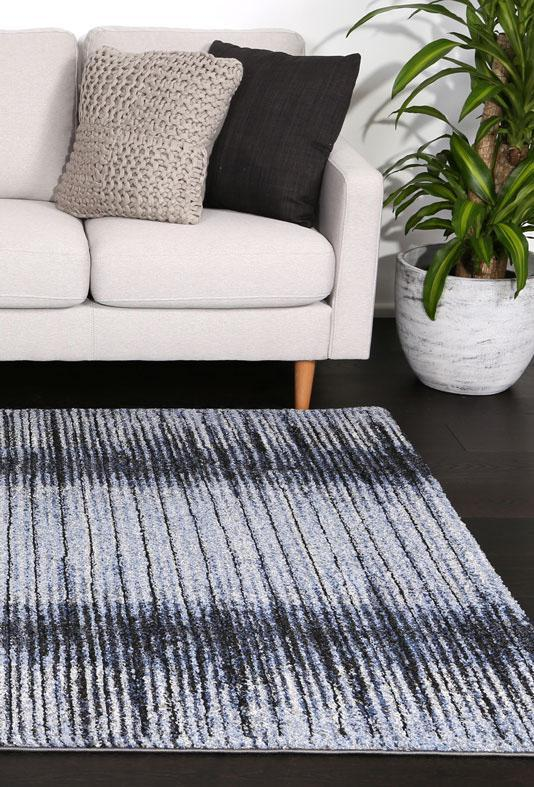 Momo Blue Coastal Rug