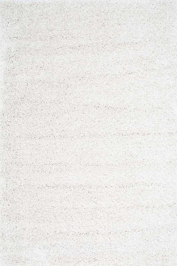 Austin Plush White Shaggy Rug
