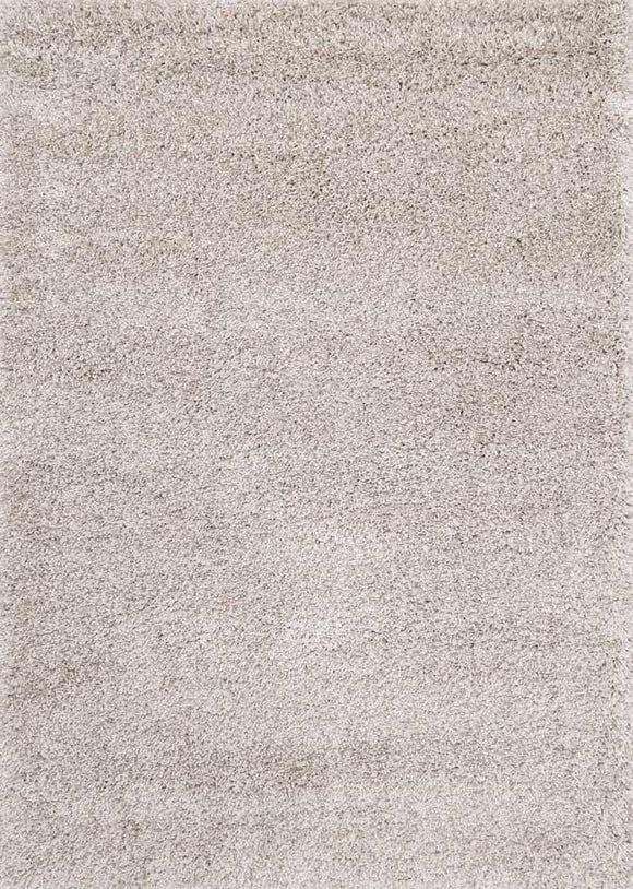 Austin Plush Grey Shaggy Rug