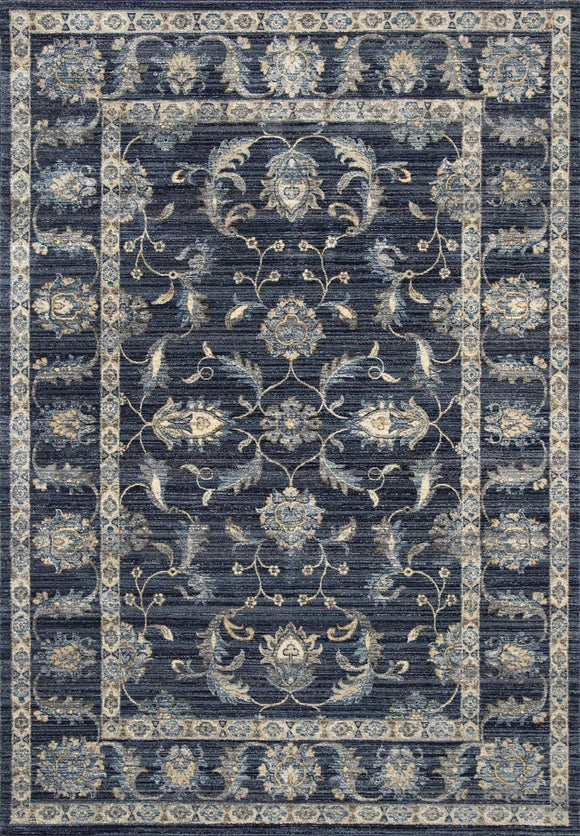 Atlas Traditional Navy Rug