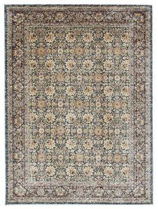 Cascade Moonlight Luminous Blue Rug