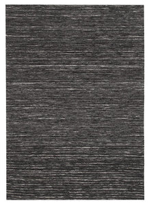 Escape Eliza Stunning Flat Woven Rug Charcoal
