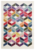 Gemini Modern 508 Multi Coloured Rug