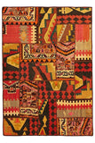 Oriental Hand Knotted Patchwork Kilim Rug - Cheapest Rugs Online - 1