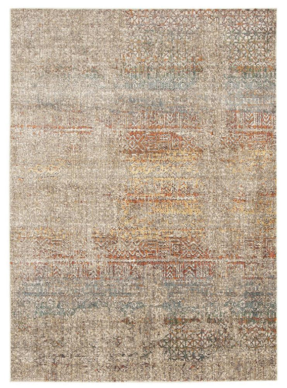 Jezebel Fluid Rainbows Modern Multi Rug