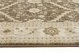 Jewel Chobi Design 800 Brown Bone Runner Rug