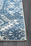 Mirage Zelda Grey Navy Runner Rug