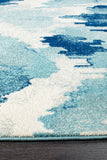 Mirage Lesley Whimsical Blue Rug