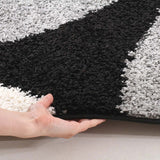 Notes Collection 2 Black And Grey Rug