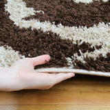 Notes Collection 6 Beige And Brown Rug