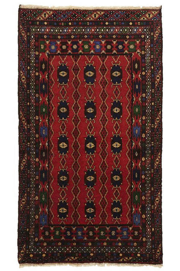 Ageless Hand Knotted Afghan Balouch Rug - Cheapest Rugs Online - 1