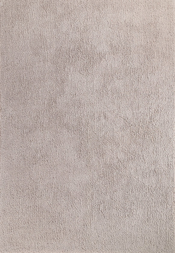 Flutter Taupe Shaggy Rug
