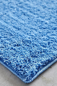 Soho Awesome Shag Rug Blue