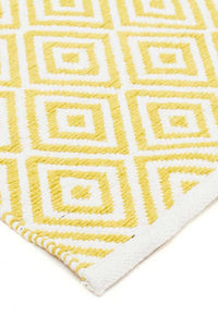 Spirit Diamond Yellow Rugs